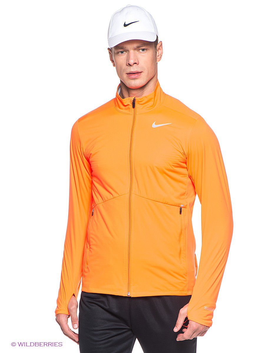 Кофта Nike Кофта ELEMENT SHIELD FZ (HO14) носки nike носки nike running dri fit cushion d