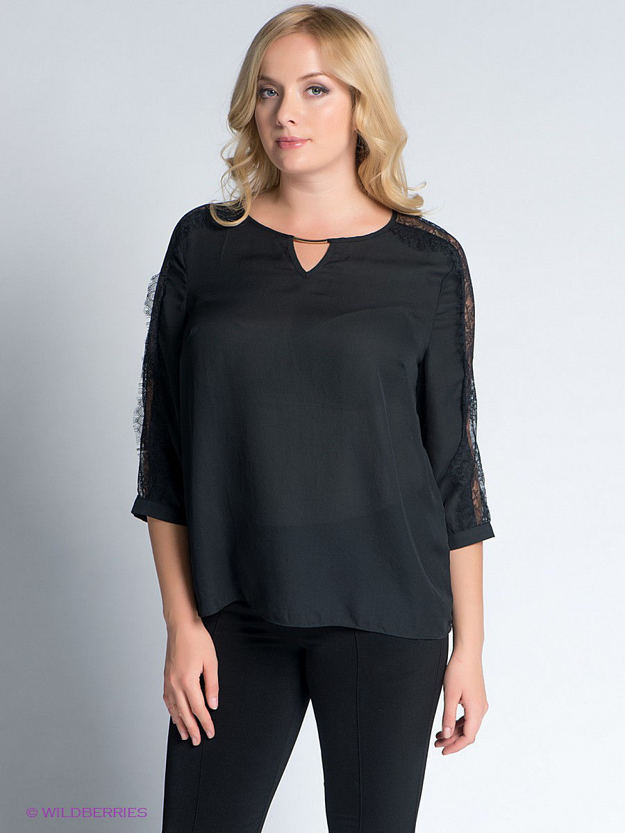 Кофточка LE MONIQUE LMNTMW15BL158/BLACK
