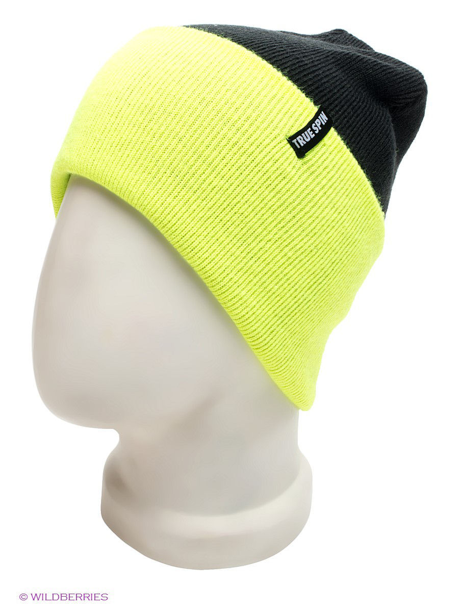 Шапка True Spin TS-NEO2TRU13/BLACK-LIME