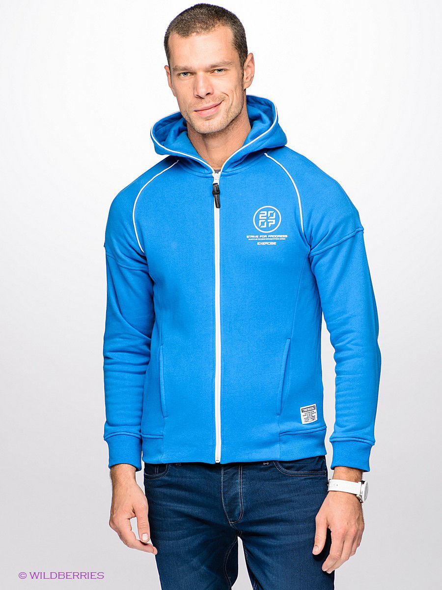 Толстовка Outfitters Nation 24015128/ImperialBlue