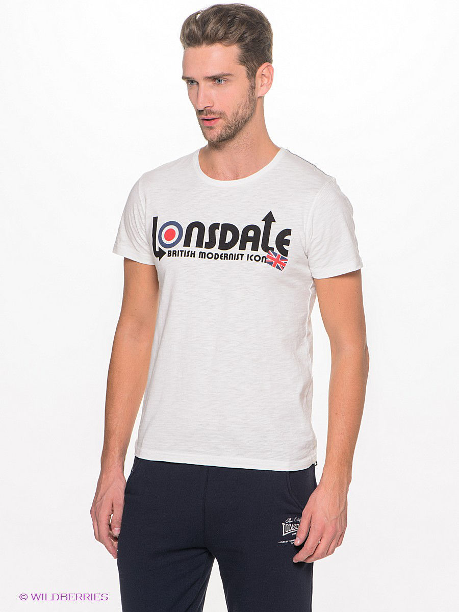Футболка Lonsdale 114651/114651/OFF/WHITE