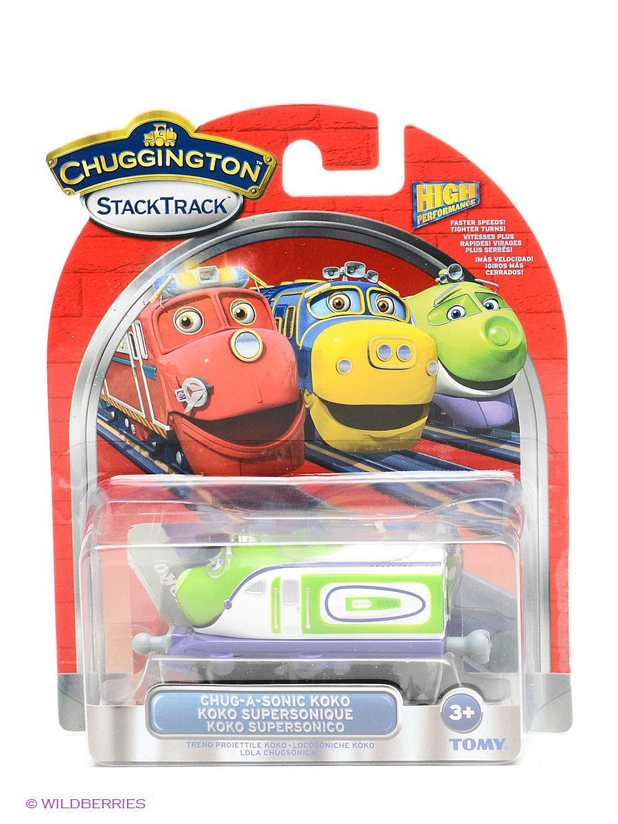 Chuggington Die-cast Паровозик Чаггинсоник Коко