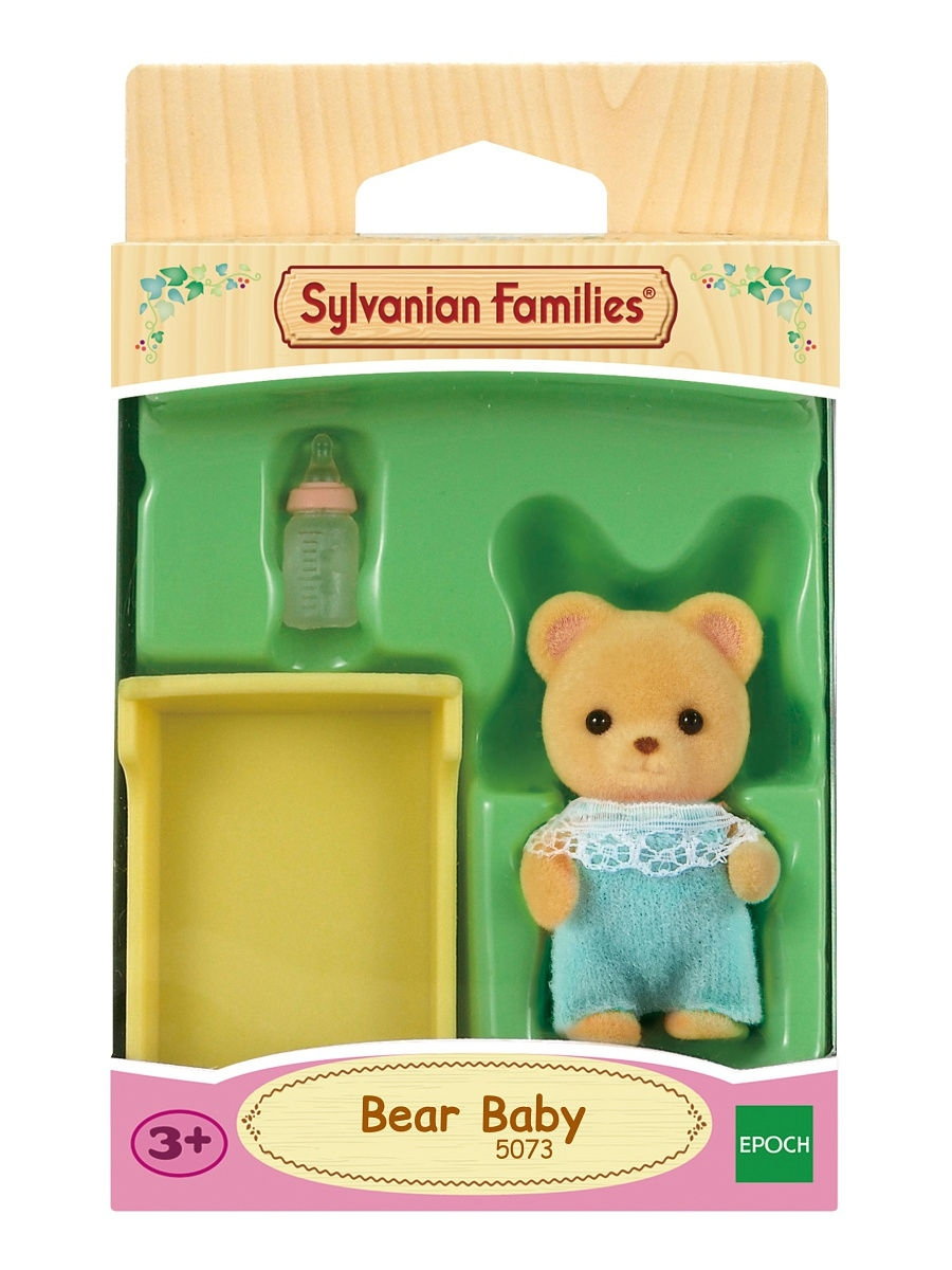 Фигурки-игрушки Sylvanian Families Игровой Набор Малыш Медвежонок fashion survival bracelet with watch compass flint fire starter scraper whistle gear outdoor military casual watches hot