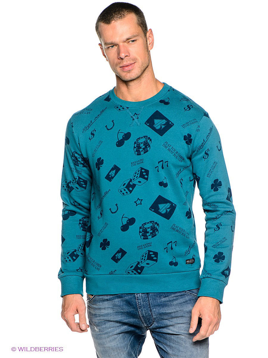 Джемпер OUTFITTERS NATION 24015419/BlueCoral