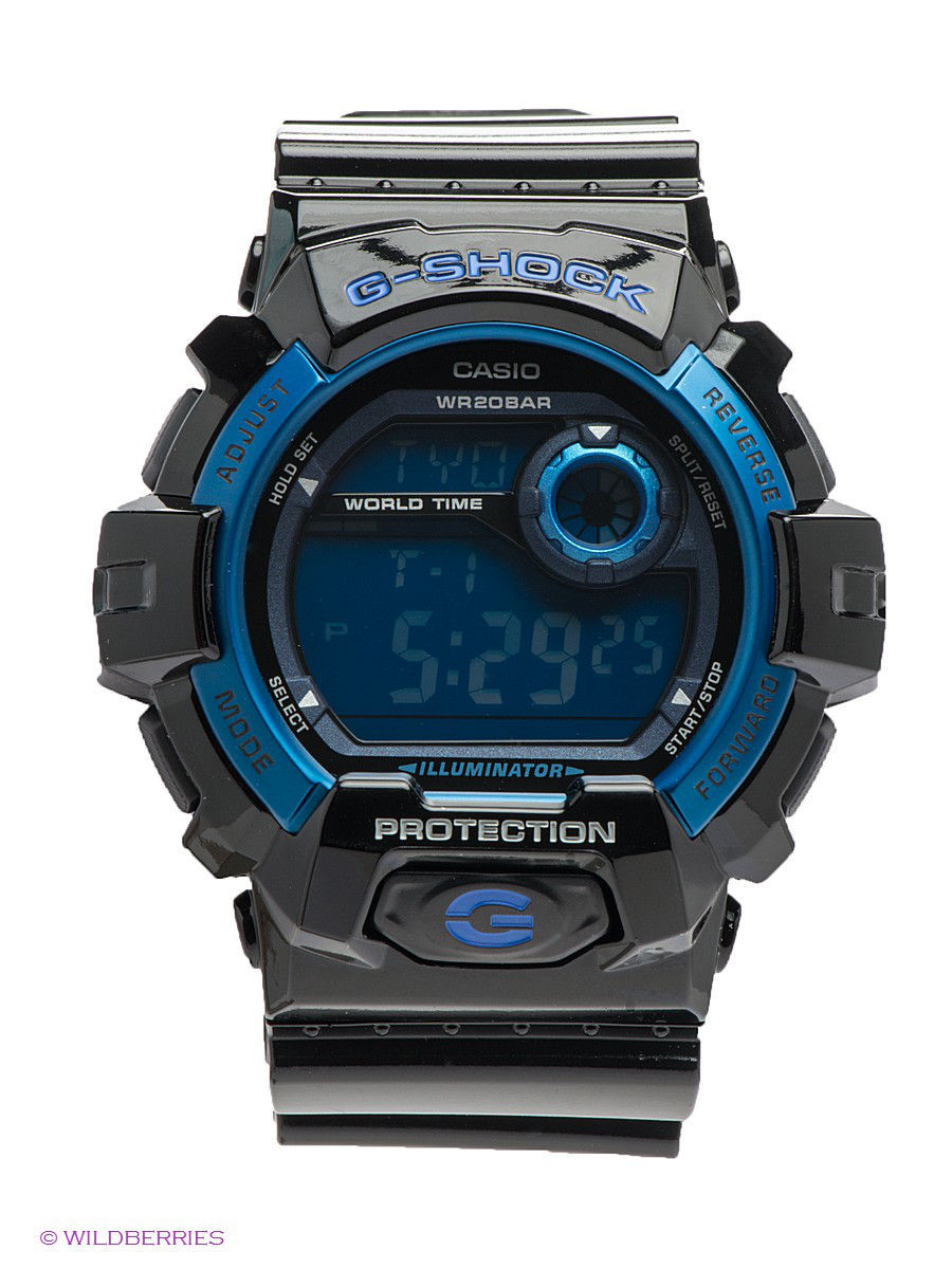 часы casio g shock gd x6900mc 1e black grey Часы наручные CASIO Часы G-SHOCK G-8900A-1E