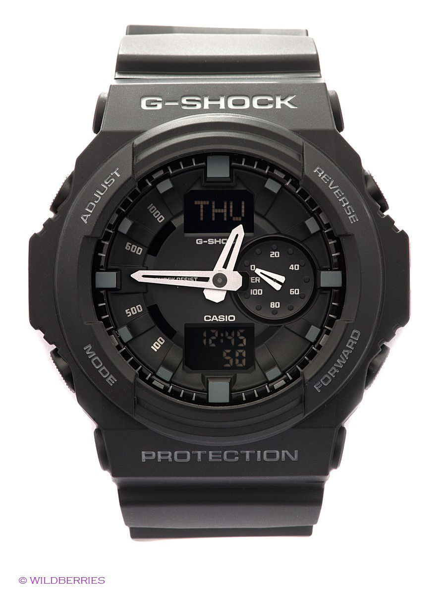 Часы наручные CASIO Часы G-SHOCK GA-150-1A casio g shock ga 150 1a