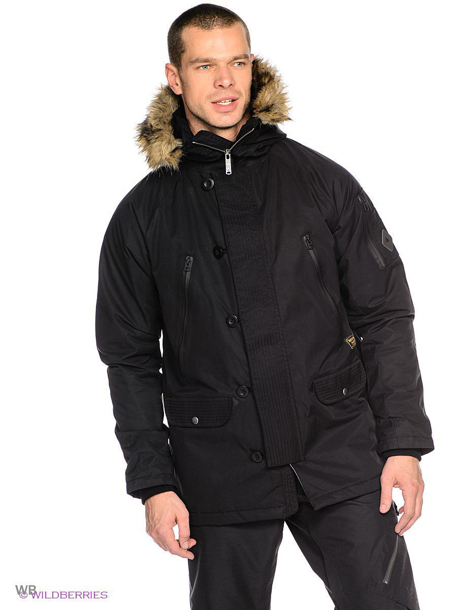 Ветровка Burton 13987100002/TRUE/BLACK