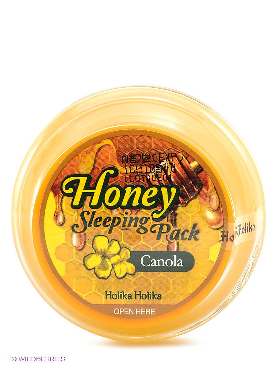 Ночная медовая маска для лица Honey Sleeping Pack Holika Holika