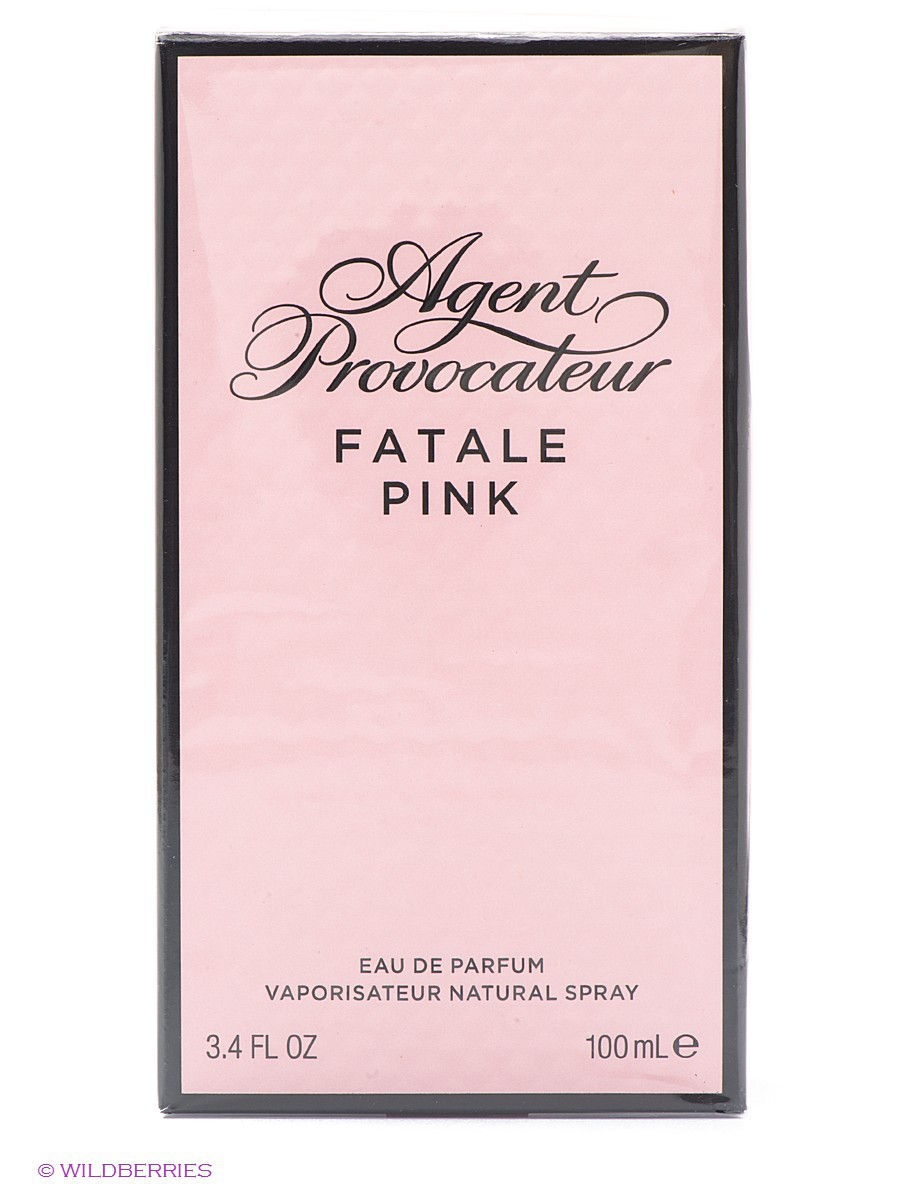 Парфюмерная вода FATALE PINK, 100 мл AGENT PROVOCATEUR ATP073101