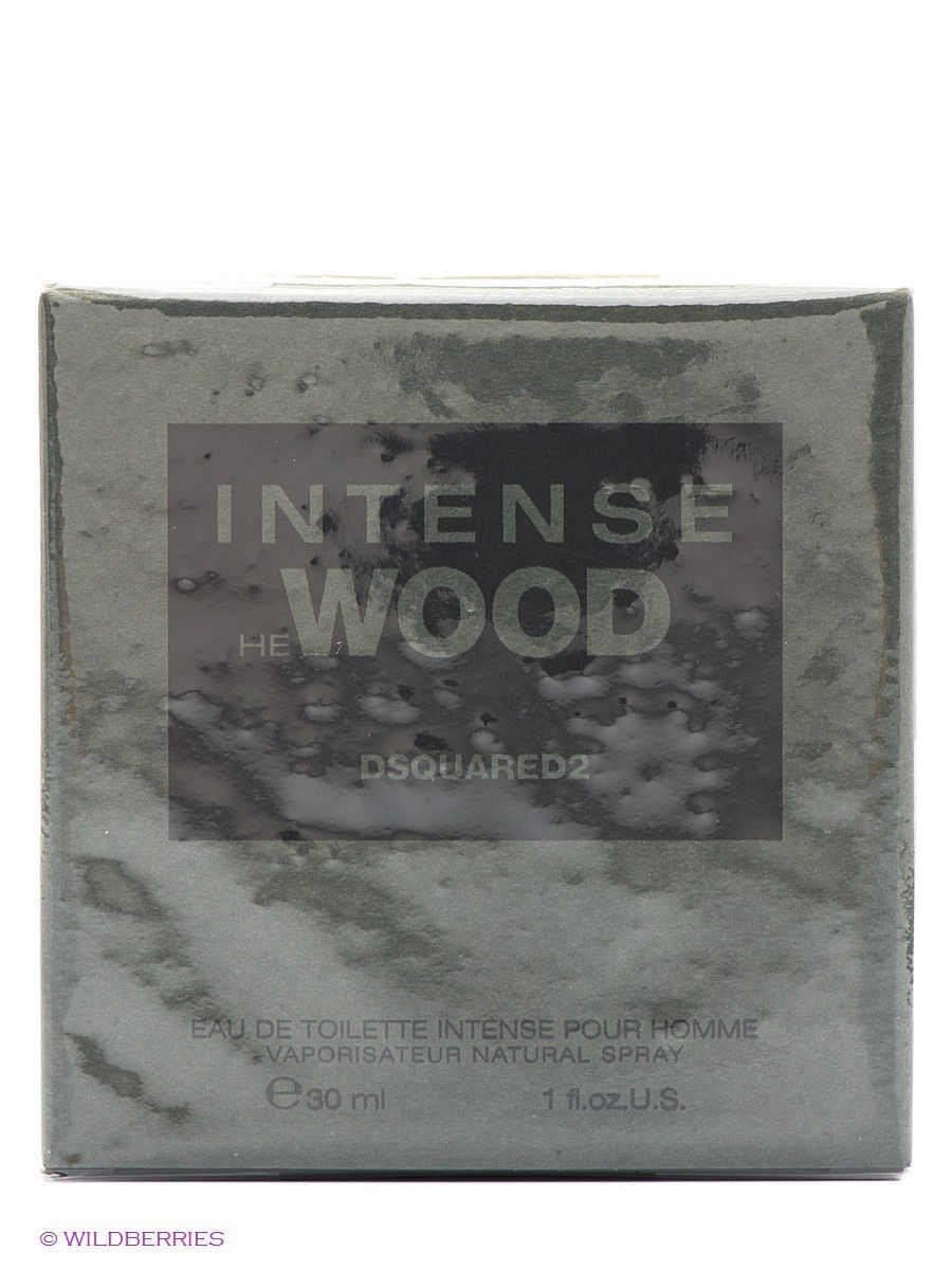 Туалетная вода HE WOOD INTENSE, 30 мл спрей Dsquared DSQ_6R000