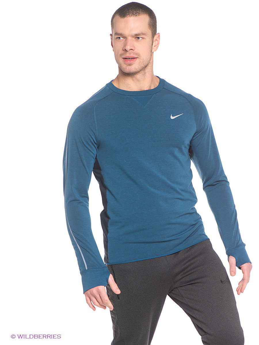�������� NIKE DRI-FIT SPRINT CREW 642796-496