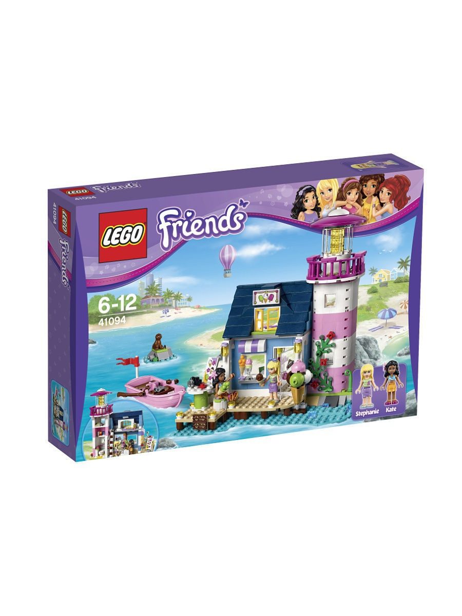 Конструкторы Lego LEGO Friends Маяк 41094 игрушка lego friends 41094 маяк