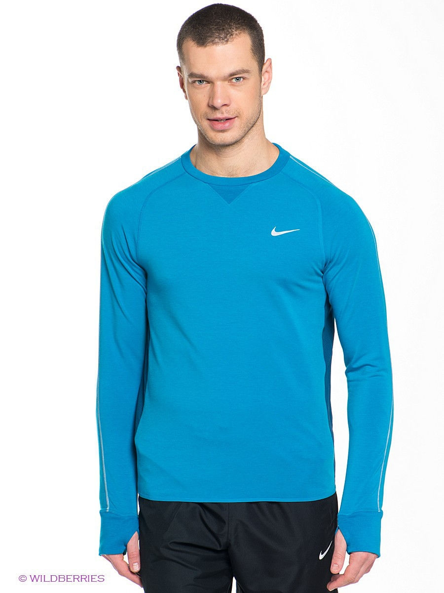 Лонгслив NIKE DRI-FIT SPRINT CREW 642796-413