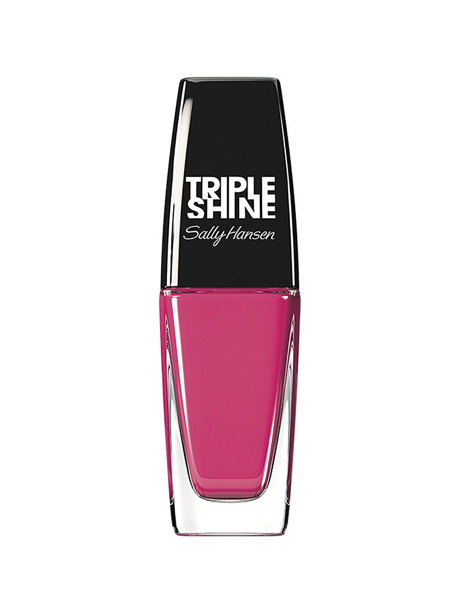 Лаки для ногтей SALLY HANSEN Лак для ногтей Triple Shine Nail Color, тон Ree-Raf # 210 лаки для ногтей sally hansen лак для ногтей hard as nails xtreme wear nail color тон brick wall 90 510