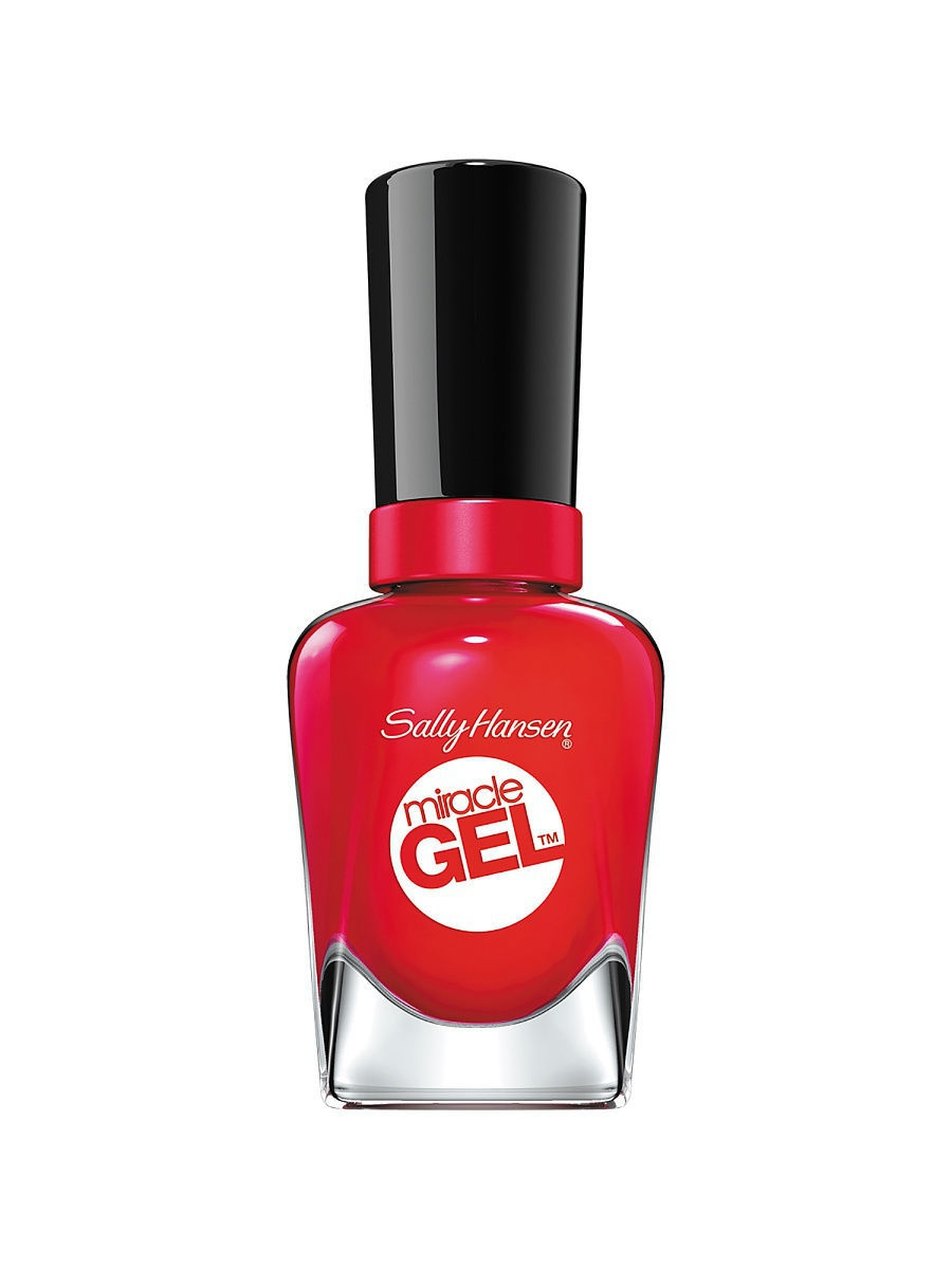 Гель-лаки SALLY HANSEN Гель-лак для ногтей Miracle Gel, тон Red Eye #470 гель лак для ногтей sally hansen miracle gel 444 цвет 444 off with her red variant hex name dc293e