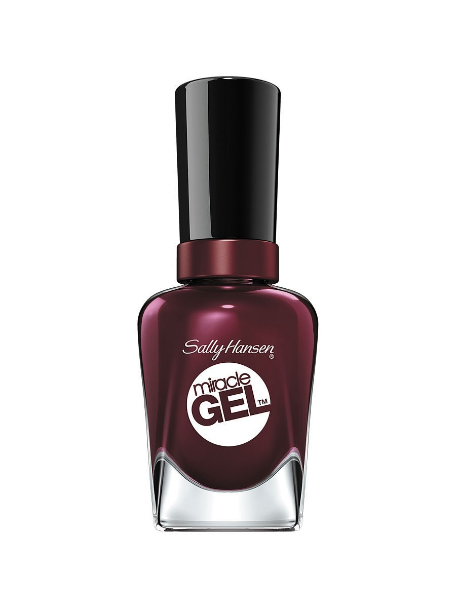 Гель-лаки SALLY HANSEN Гель-лак для ногтей Miracle Gel, тон 480 wine stock гель лак для ногтей sally hansen miracle gel 160 цвет 160 pinky promise variant hex name f1a3b2