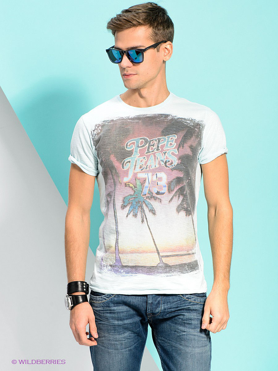 Футболка Pepe Jeans London PM502174/506