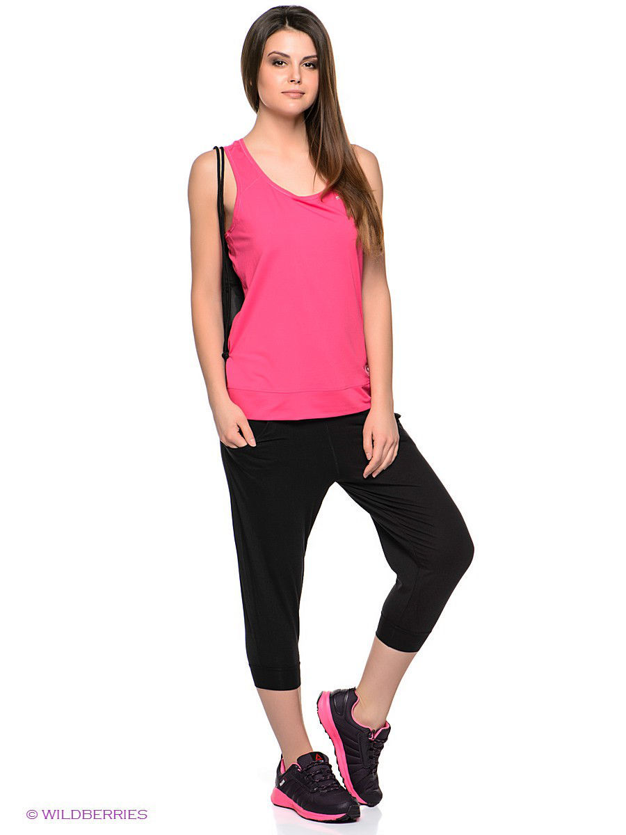 Капри Reebok Капри YOGA Q4 CAPRI lole капри ssl0005 lively capri xxs black