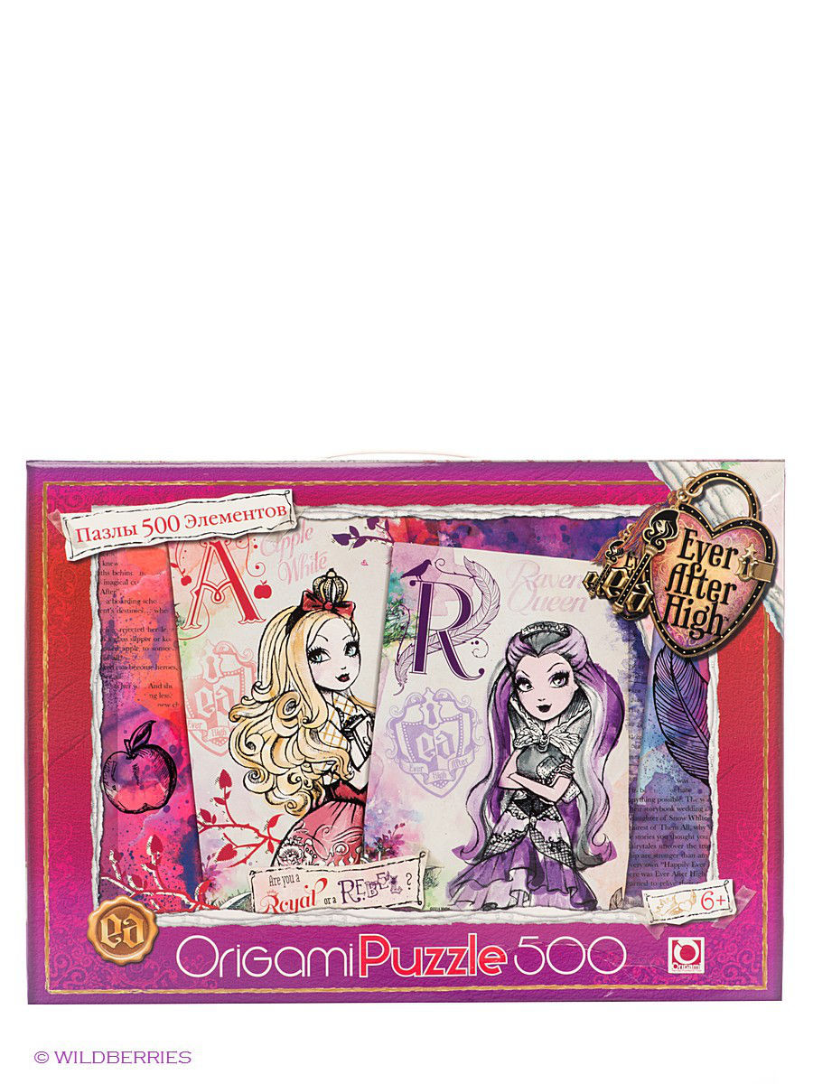 Пазлы Origami Пазл Ever After High ever after high пазл 500a чем 00676