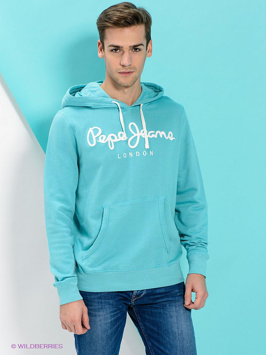 PEPE JEANS LONDON Худи шлепанцы pepe jeans bio basic