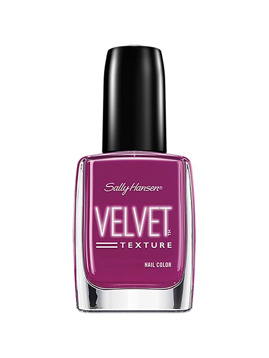 Лаки для ногтей SALLY HANSEN Лак для ногтей Velvet Texture Nail Color , тон Crushed # 610 лаки для ногтей sally hansen лак для ногтей hard as nails xtreme wear nail color тон brick wall 90 510