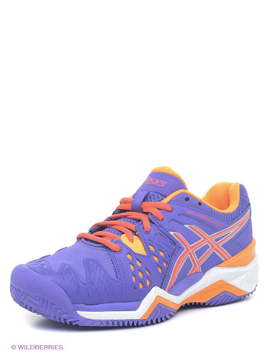 ��������� ��������� GEL-RESOLUTION 6 CLAY ASICS E553Y/3306