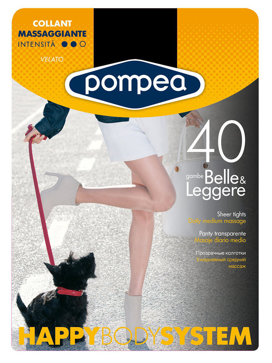 Колготки POMPEA HBS40COLLANT/TIGHTS/BLACK