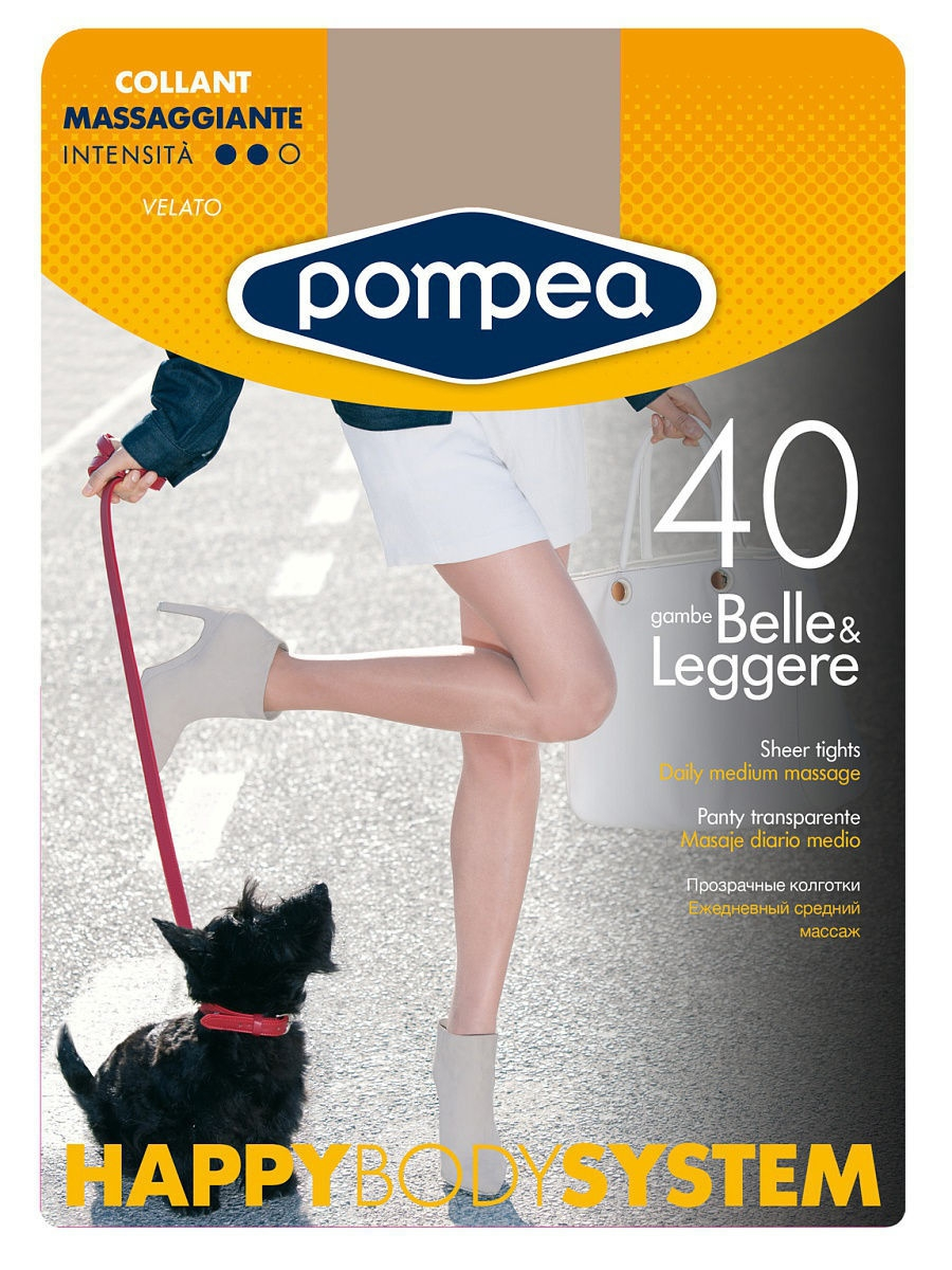 Колготки POMPEA HBS40COLLANT/TIGHTS/SKIN