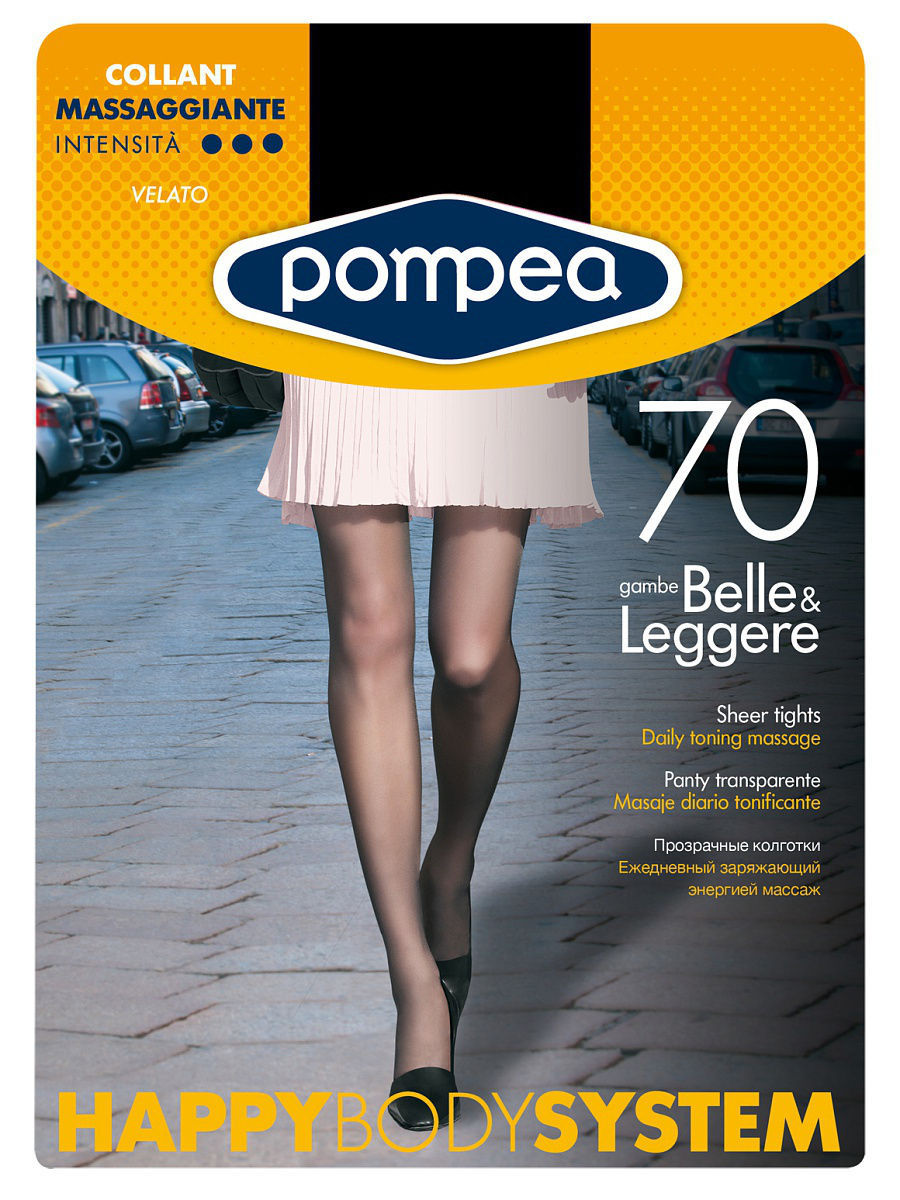 Колготки POMPEA HBS70COLLANT/TIGHTS/BLACK