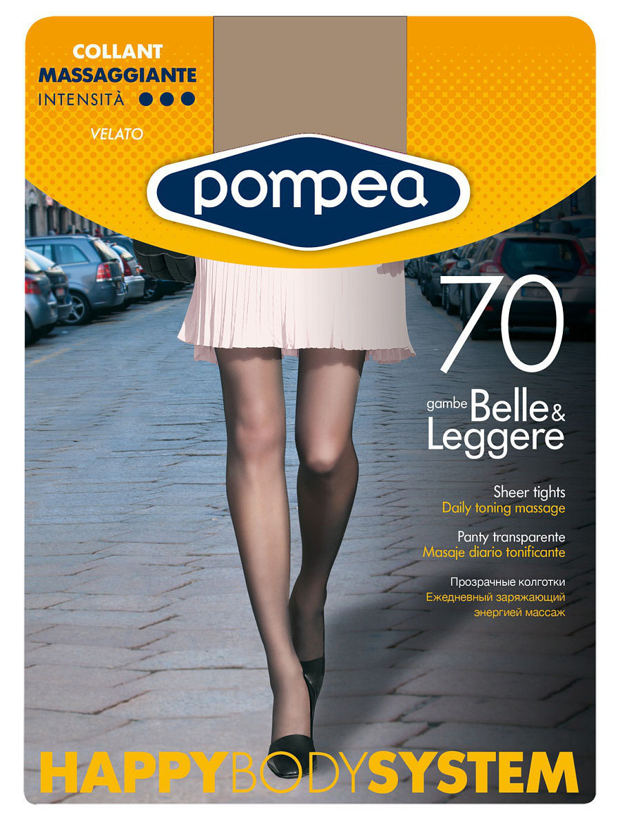 Колготки POMPEA HBS70COLLANT/TIGHTS/SKIN