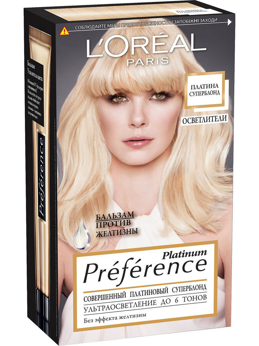 "������� ������ ��� ����� ""Preference, ������� ����������"", 6 ����� ����������, 192 �� L'Oreal Paris A6737001"