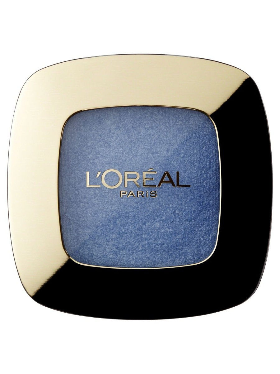 Тени L'Oreal Paris Тени для век Color Riche L'Ombre Pure, оттенок 404, Blue Jean, 3,6 мл тени l oreal paris тени для век color riche l ombre pure оттенок 307 smoky 3 6 мл