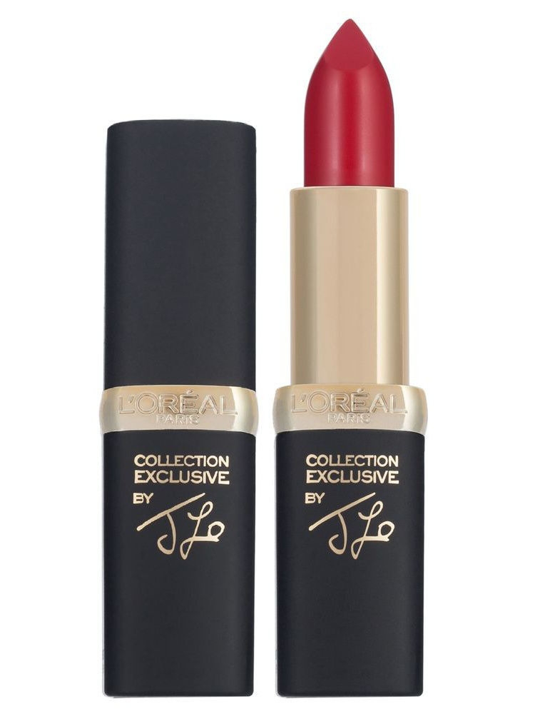 Помады L'Oreal Paris Губная помада Color Riche Pure Reds, тон J Lo's pure red, 4,5 мл тени l oreal paris тени для век color riche l ombre pure оттенок 307 smoky 3 6 мл