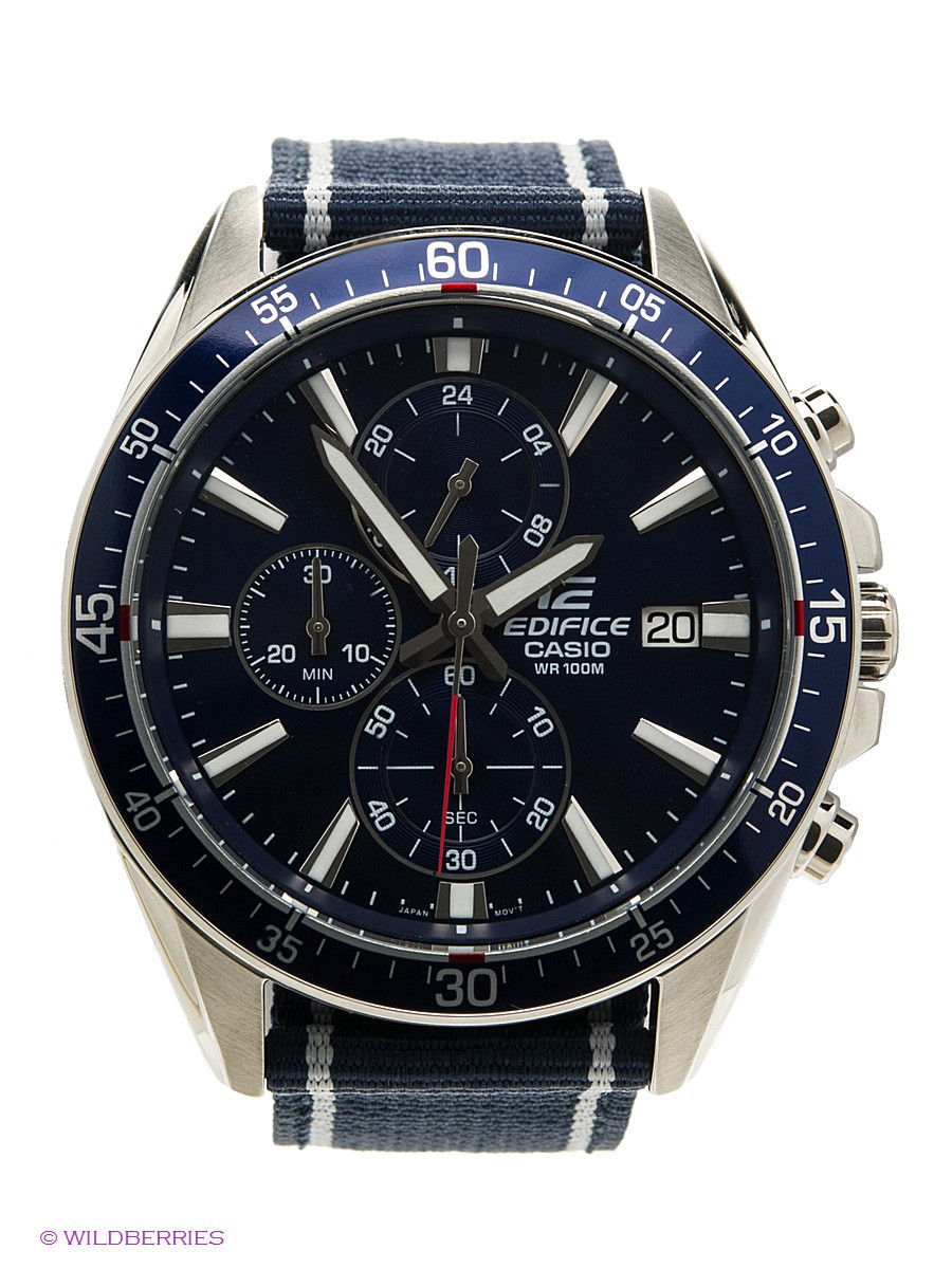 Часы наручные CASIO Часы EDIFICE EFR-546C-2A casio часы casio efr 539rb 2a коллекция edifice infiniti red bull racing