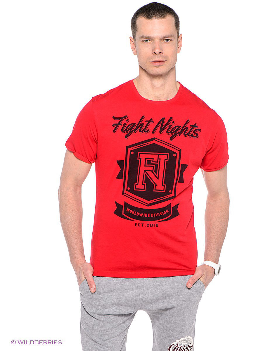 Футболка Fight Nights FMTS13053/красный