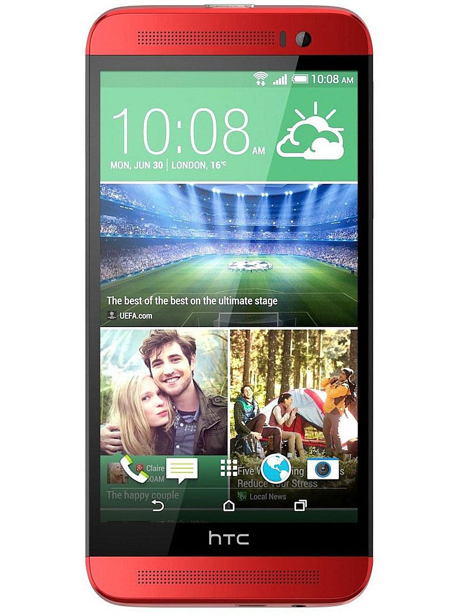 Смартфоны HTC Смартфон One (E8) dual sim Red htc one e9s dual sim lte chestnut