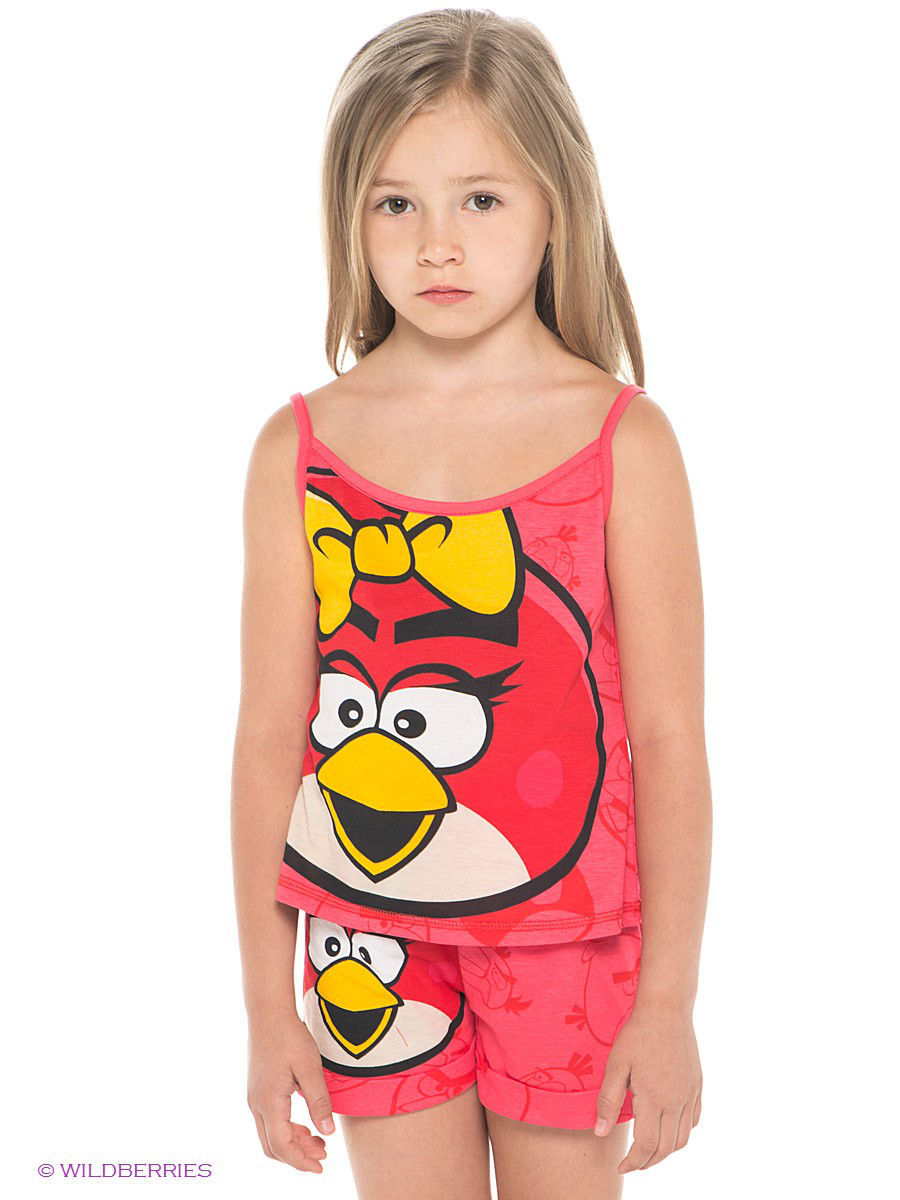 Топ ANGRY BIRDS AB-TPF271-RED