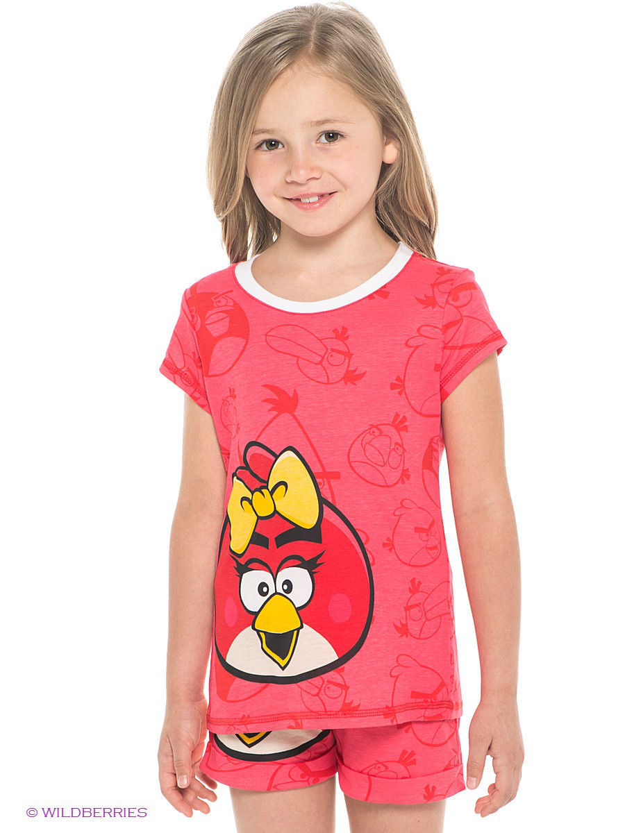 Футболка ANGRY BIRDS AB-TSF081-RED