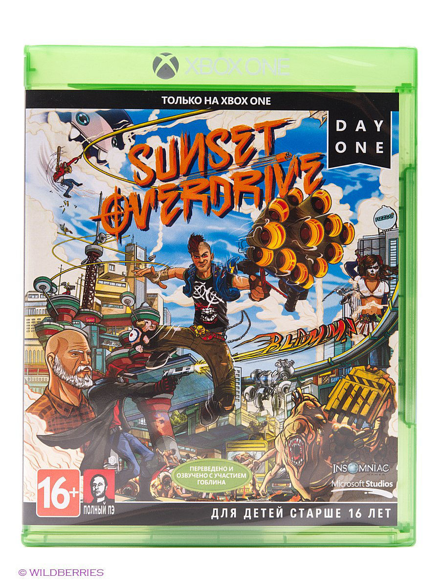 Диски с играми Microsoft Игра Sunset Overdrive для Xbox One (полностью на русском) ripal b patel kishor bamniya and a n patel image quality based on ssim