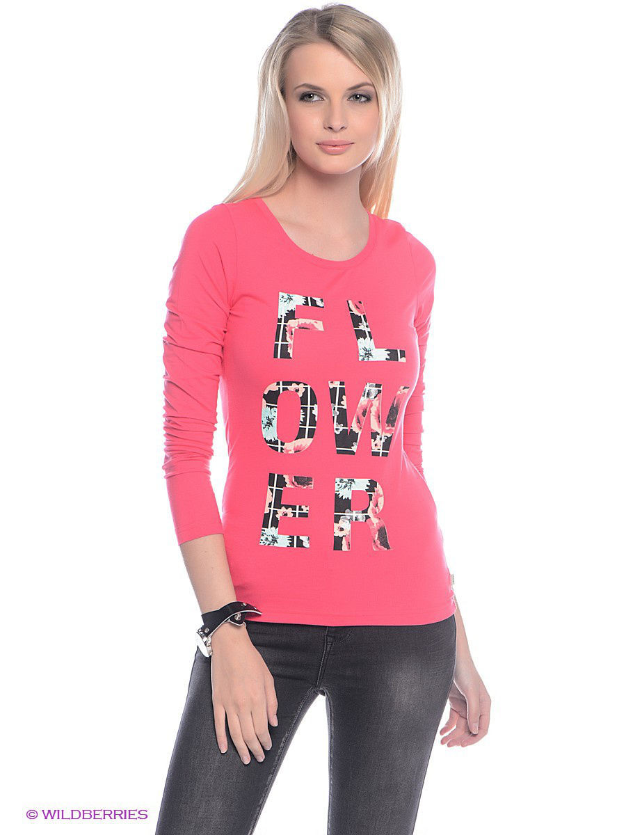 Футболка с длинным рукавом Outfitters Nation 24016207/RougeRed