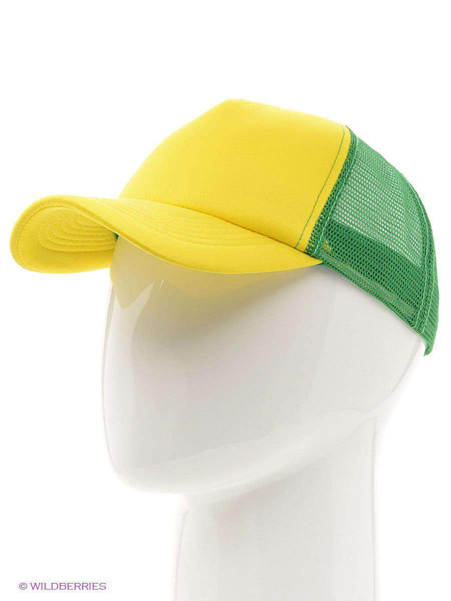 Бейсболка True Spin TS-CTR13/Yellow-Green