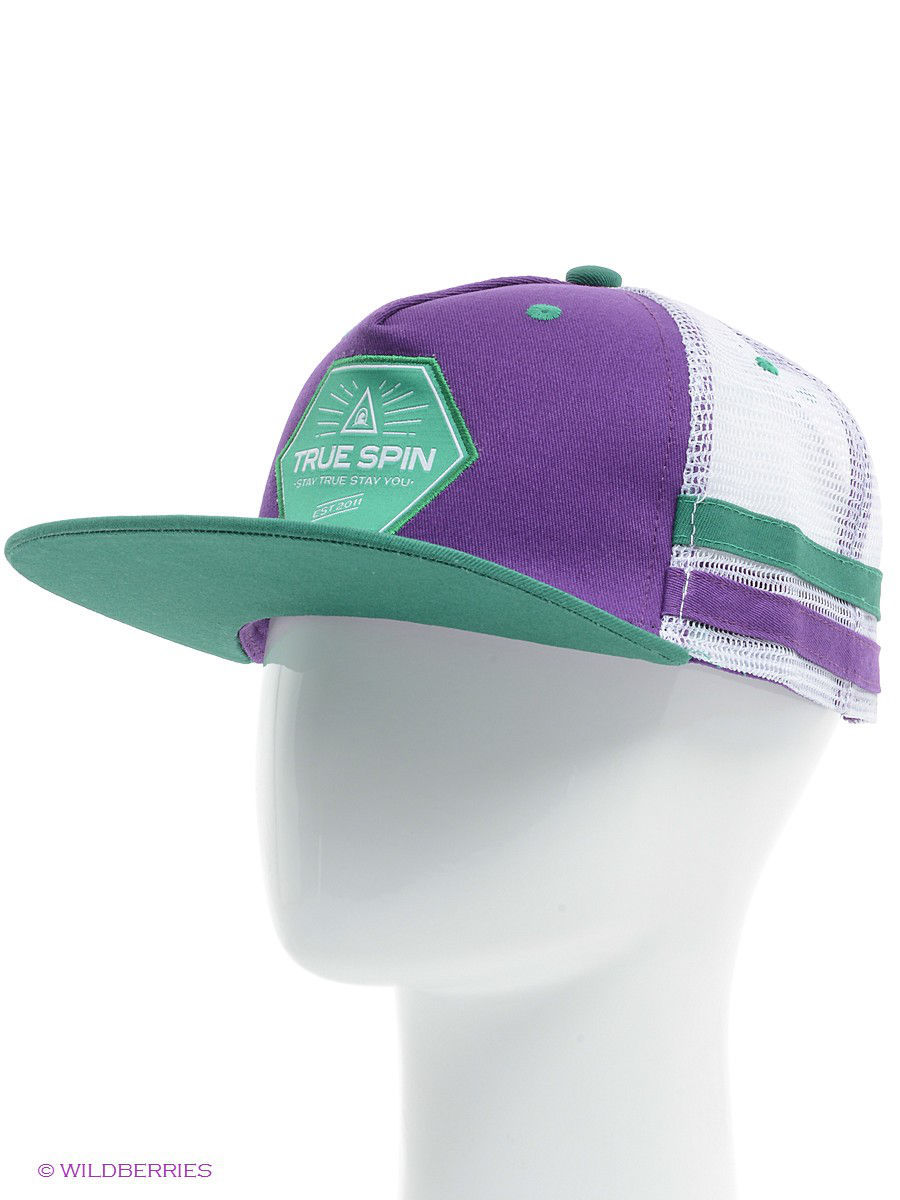 Бейсболка True Spin TS-SPTR14/Purple-White