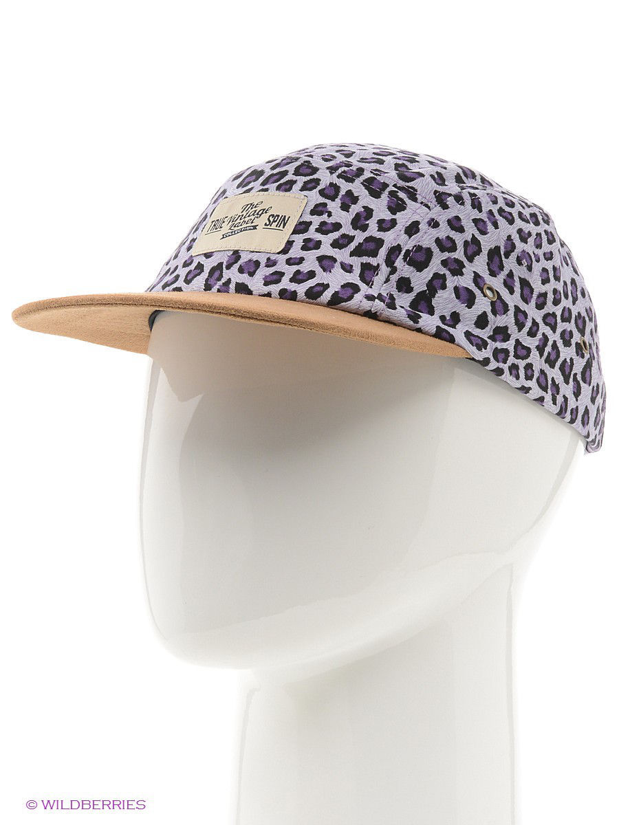 Бейсболка True Spin TS-SUE13/Leopard-Purple