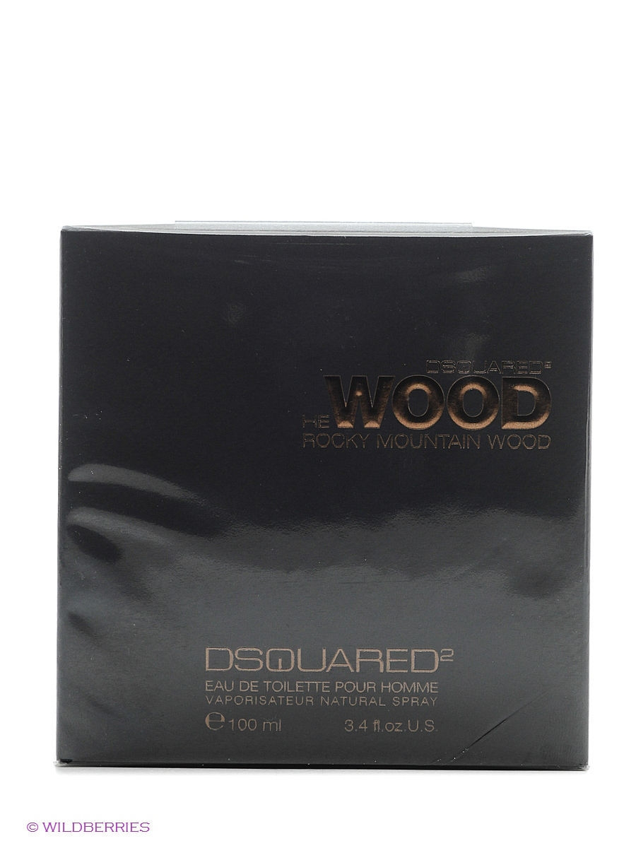 "Туалетная вода He Wood Rocky Mountain Wood edt pour homme 100ml natural spray"" Dsquared DSQ6B002"