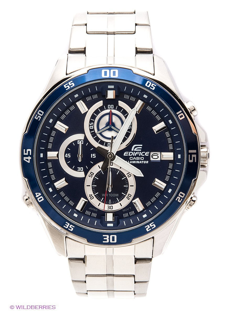 Часы наручные CASIO Часы EDIFICE EFR-547D-2A casio часы casio efr 539rb 2a коллекция edifice infiniti red bull racing