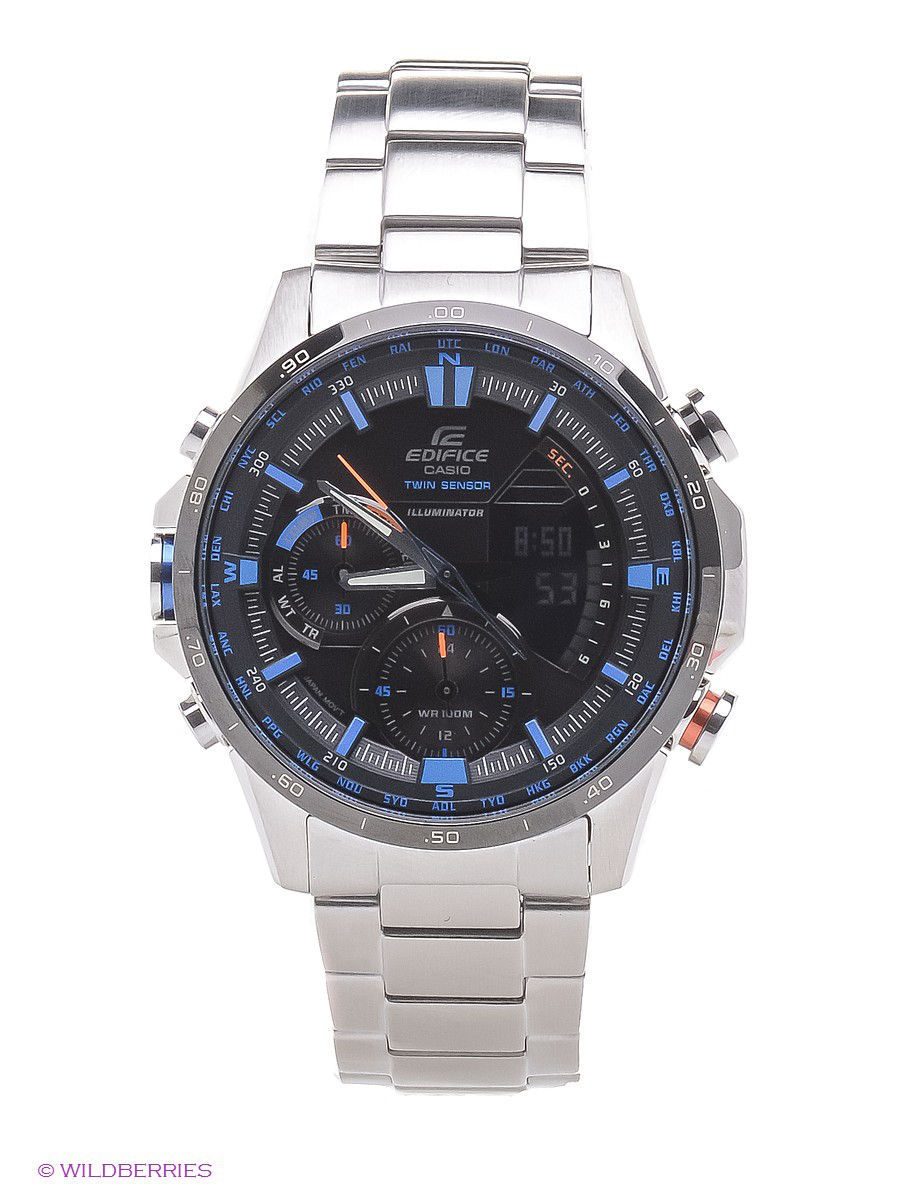 Часы наручные CASIO Часы EDIFICE ERA-300DB-1A2 casio era 200dc 1a2