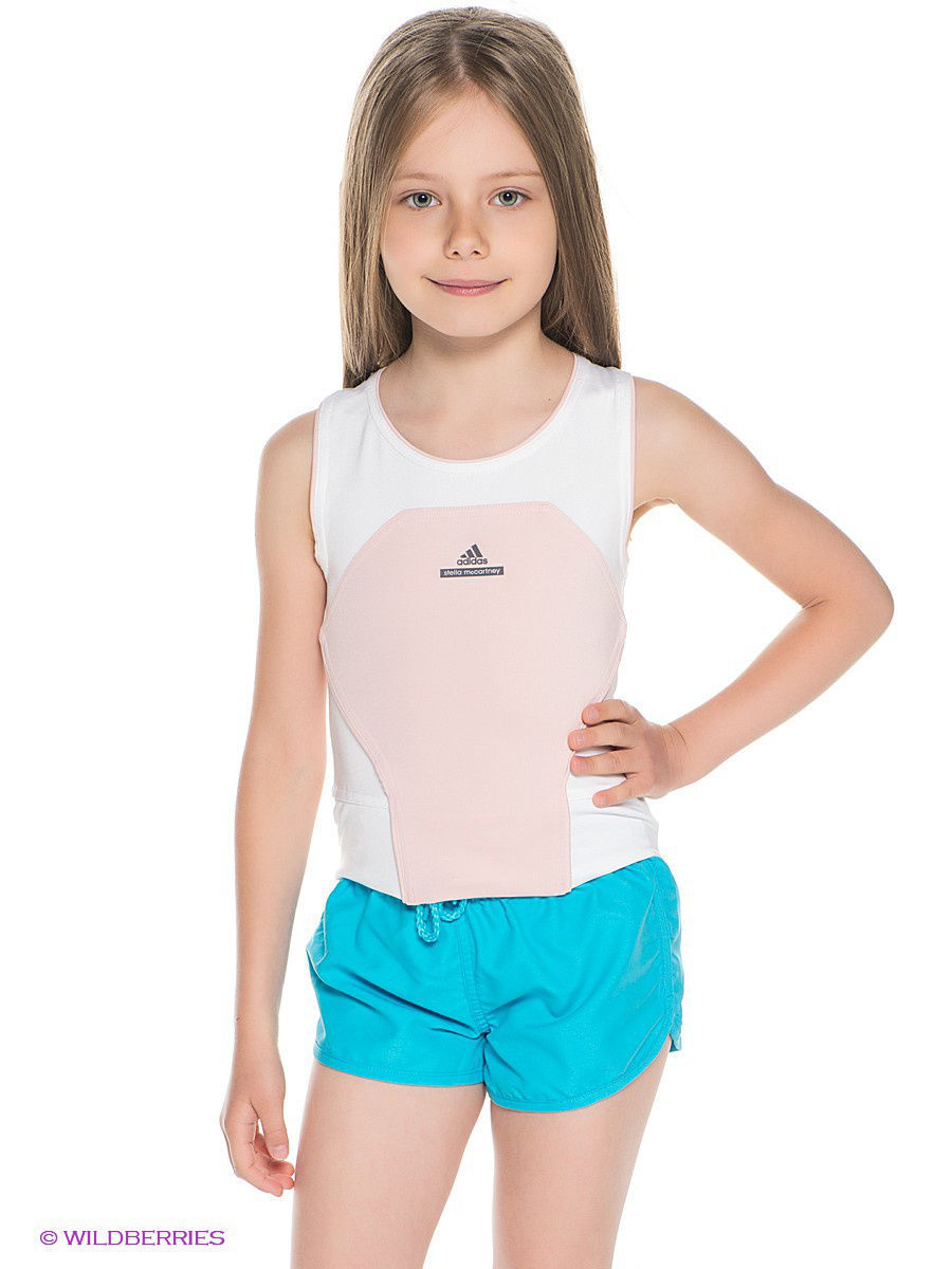 Топ Girls Stella McCartney Barricade Tank Adidas S00099