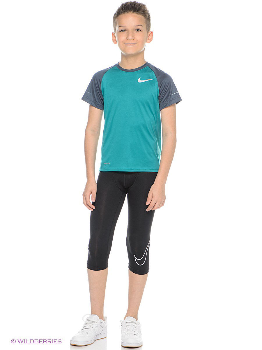 Тайтсы COOL HBR COMP 3/4 TIGHT YTH