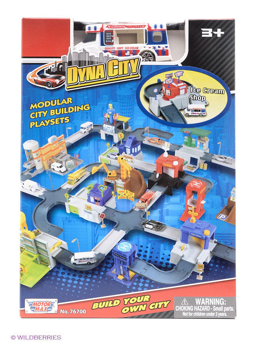 "Набор Dyna city ""Магазин мороженого"" Motormax ice_cream_shop/ast76700"