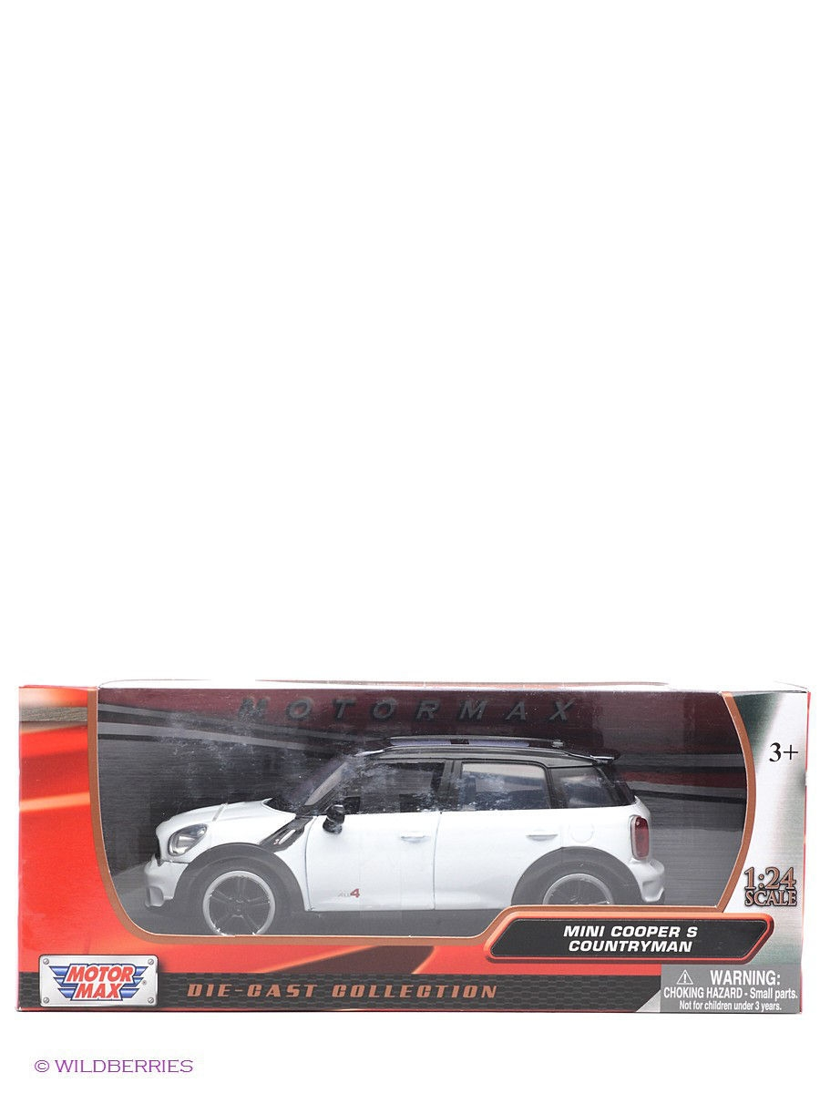 Машинки Motormax Машинка коллекционная 2011 Mini Cooper S Countryman машинки s s космо